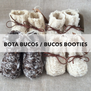 Bucos Booties - 100% organic wool
