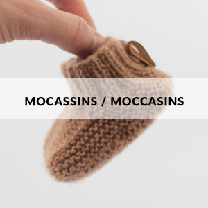 Moccasins -Soft, warm and anti allergic wool